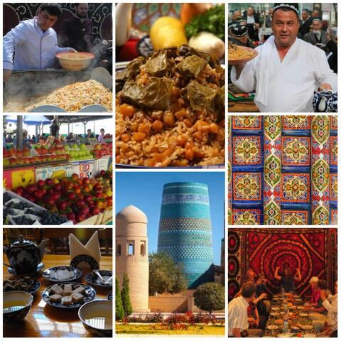 Прекрасный Ташкент, красивый Узбекистана