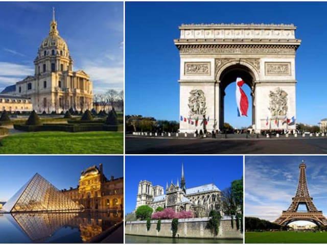 Les monuments à visiter sur Paris