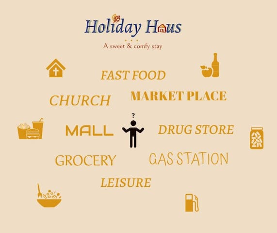 Travel Guide for Holiday Haus Guests