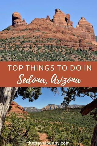 Sandra's guidebook for Sedona
