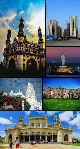 Places you must visit in Hyderabad-Guidebook