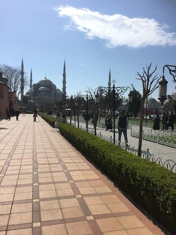 First time in Beyoglu-Istanbul