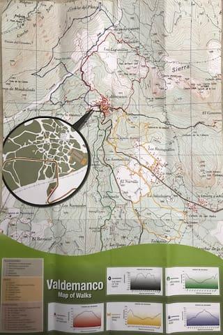 Rutas en Valdemanco / Valdemanco's Trails