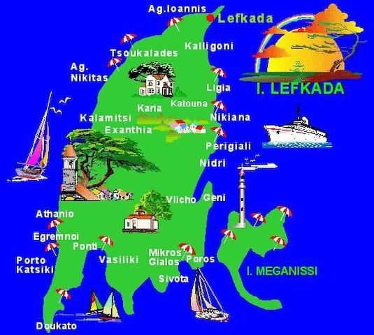 Small travel guide for Lefkada