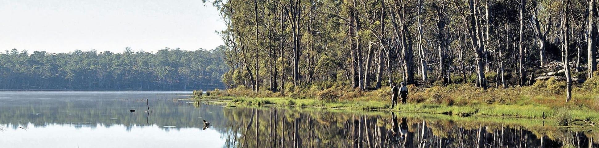 Guidebook for Miena, Tasmania