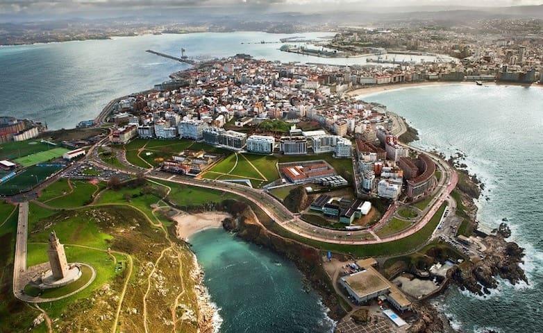 Guía de Lui y Raúl: Coruña y lugares mágicos de Galicia