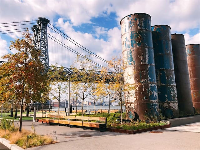 Guidebook for Bushwick, around Brooklyn, and NYC