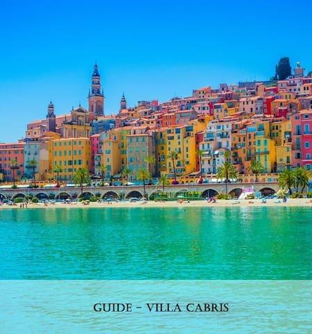 Villa Cabris - Côte d'Azur Guidebook