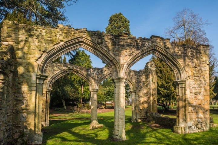 Sophie's guidebook for Abingdon Stays