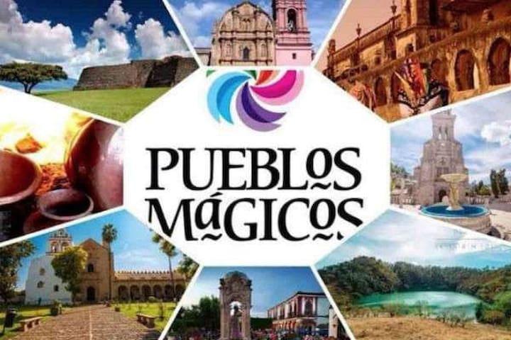 PUEBLOS MÁGICOS A MENOS DE 3 HRAS DE LA CDMX