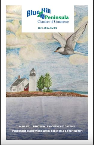 Jennifer's guidebook for Penobscot and  the Blue Hill Peninsula