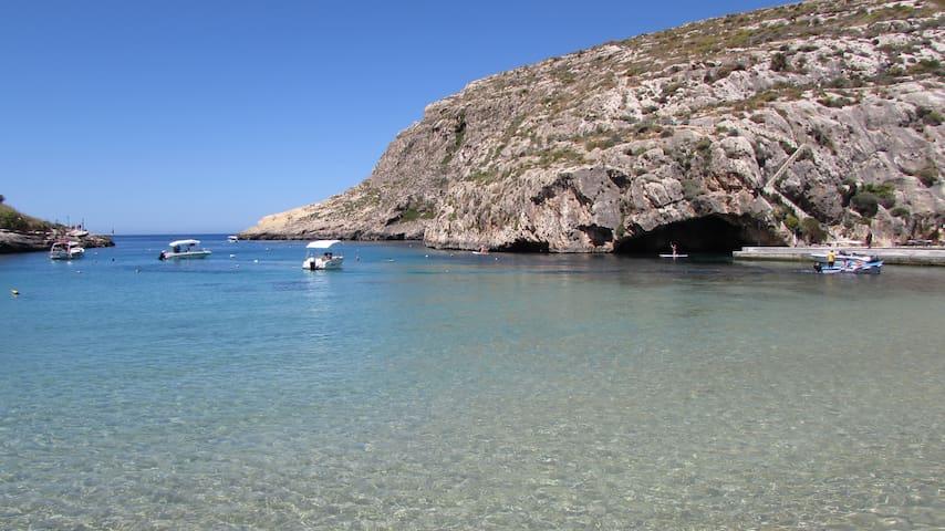 Experience Gozo from Xlendi Bay.