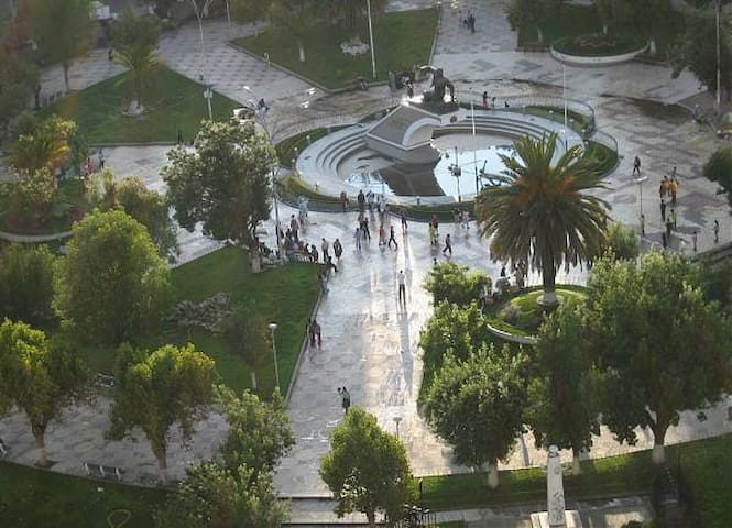 Guidebook for La Paz (Beautiful area Plaza Avaroa)