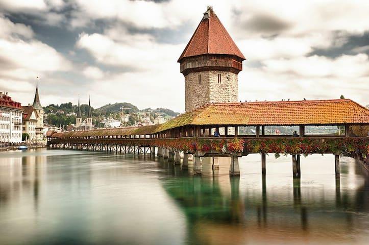 Sightseeing in Luzern