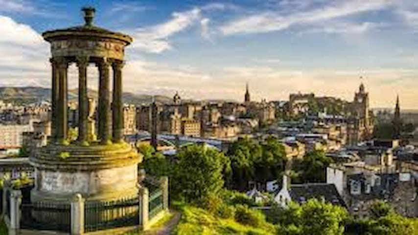 Drew's guide to eating & drinking nearby & Edinburgh sightseeing.