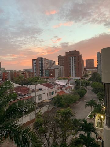 While in Barranquilla