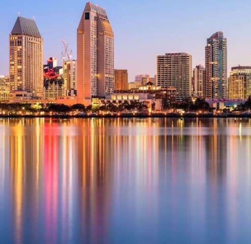Visit in San Diego