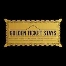 Golden Ticket Stays is the host.