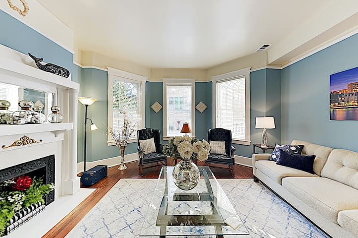 New Listing! Posh Apartment in Historic District