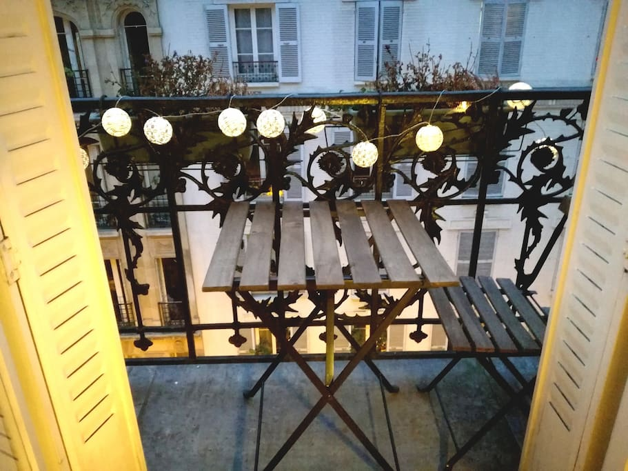 Balcon (chambre 1)