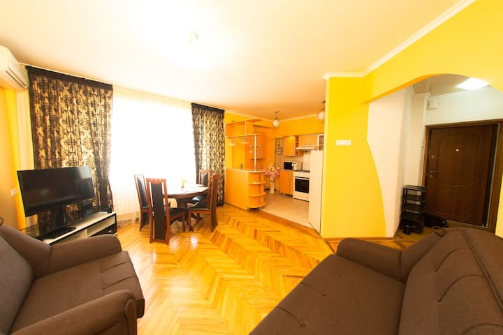 Сozy apartment in the heart of Chisinau - Chișinău - Daire