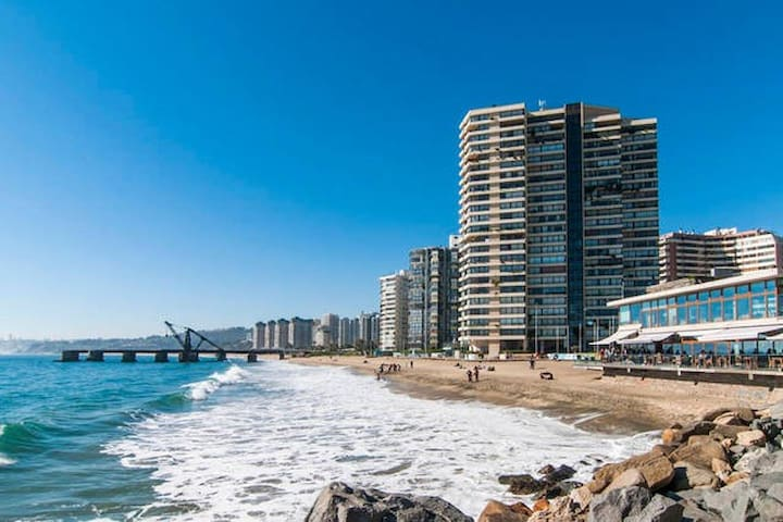 Departamento 5☆ (Best Location) #ViñadelMar