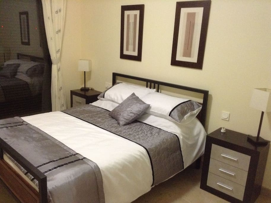 Master Bedroom, Double bed with ensuite bathroom and Jacuzzi bath