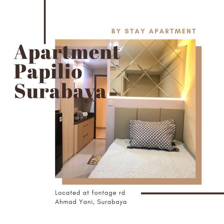 Modern Studio Apartment@Tamansari Papilio Surabaya