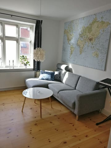Nice 2 room apartment in the city center