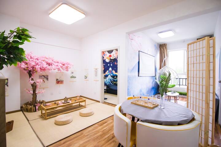 【Soft Home】春熙路/文殊院/建设路日式和风樱花榻榻米