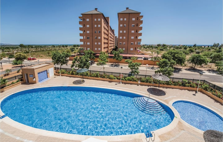 Holiday apartment with 2 bedrooms on 55m² in Cabanes