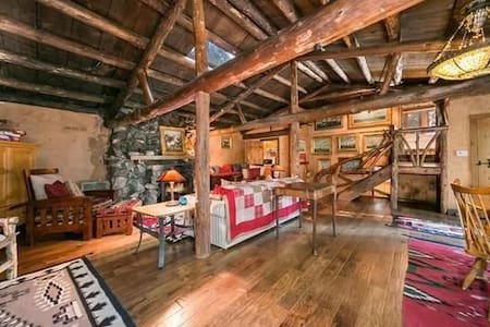 Romantic, Rustic, Authentic Log Cabin Experience - Skyforest - Mökki