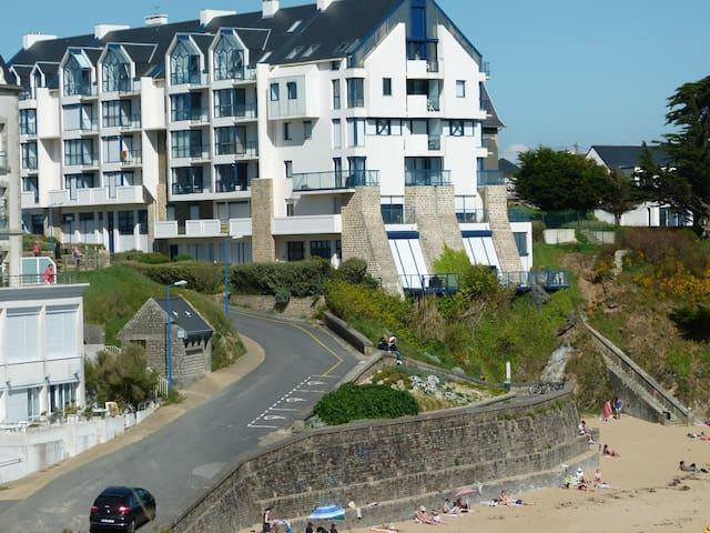 Au Pouldu, Bretagne Sud en surplombant la mer - Clohars-Carnoët - Apartment