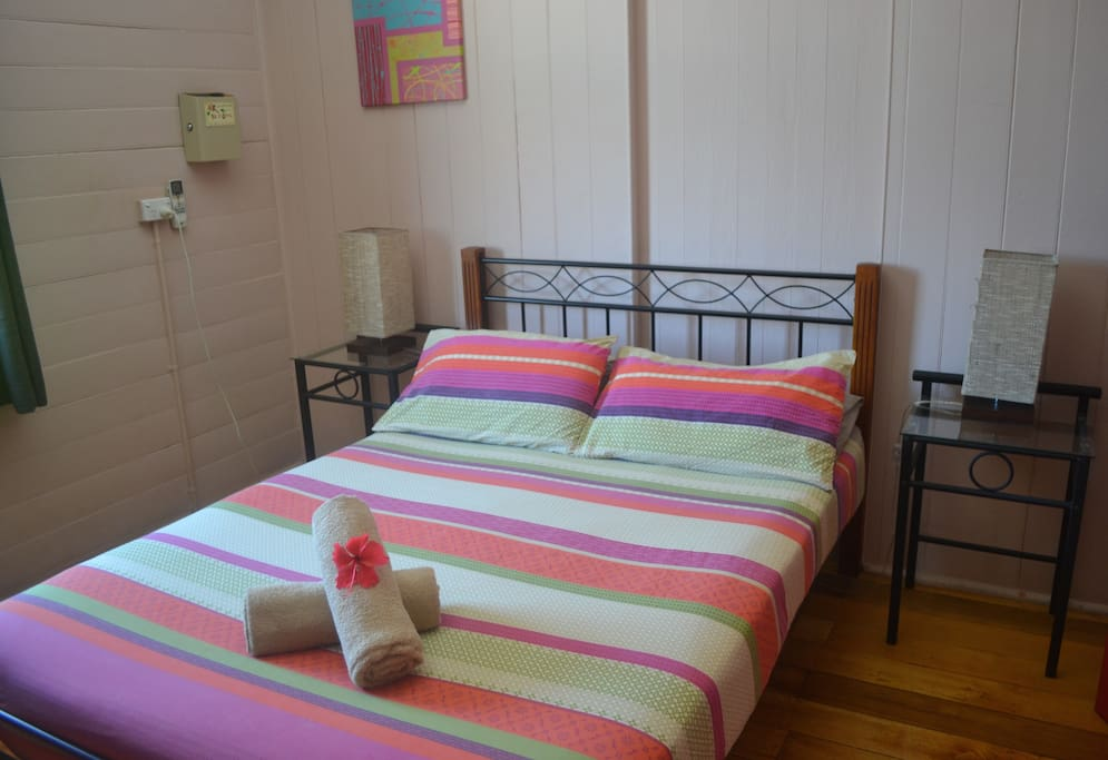 Deluxe  private double room with fridge