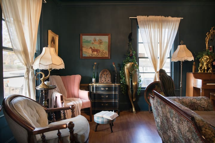 Master Suite in Victorian-Style Home