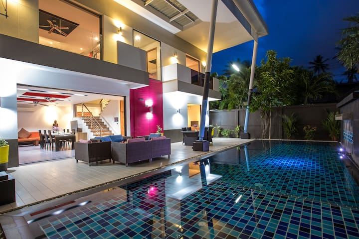 Refurbished Chic Pool Villa, 3 Bedrooms, Chalong