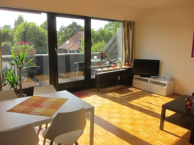 Maisonette-Wohnung mit Himmelsleiterblick