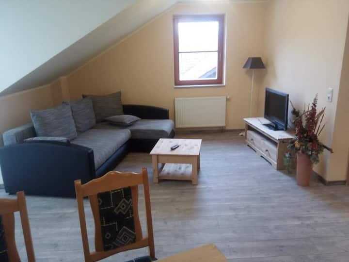 Apartment-Komfort-Ensuite Dusche-Balkon