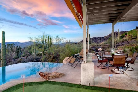 Cave Creek Estate- Infinity pool with stunning views of the desert! - Cave Creek - Ev