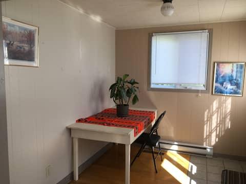 Appartement tout équipé au centre ville de Gaspé