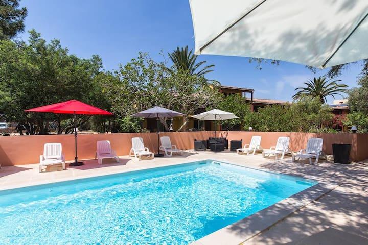 Appartement dans résidence sécurisé avec piscine
