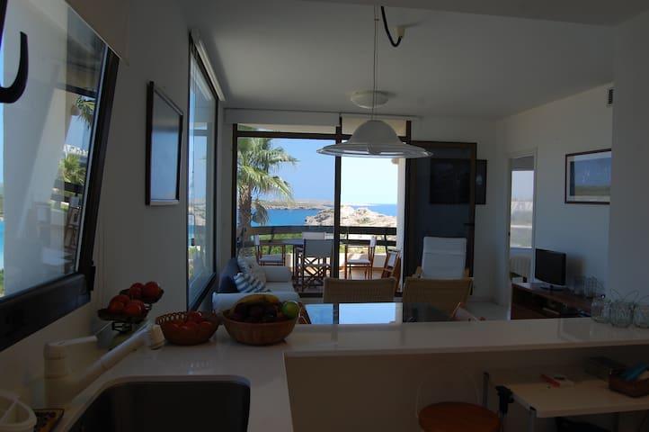 Maravilloso apartamento con vistas al mar - Es Mercadal - Apartment