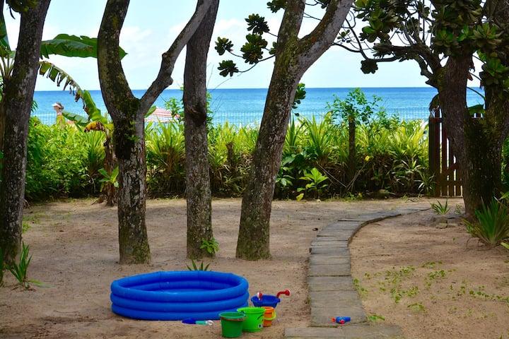 Pé na areia Praia das Toninhas - TERRA NOVA BEACH