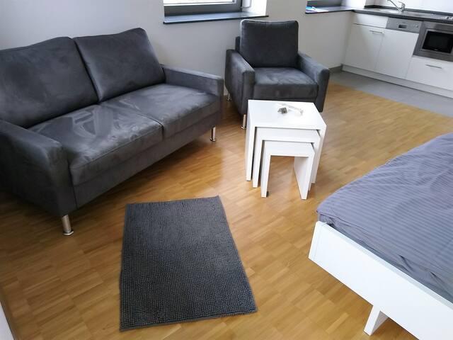 Helles Apartment in Heilbronn City