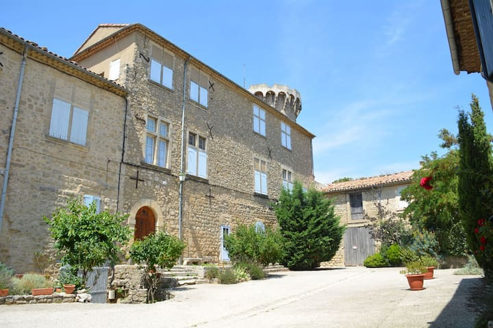 Stylish villa with private pool in the middle of a village in the beautiful Luberon