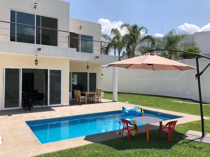 Casa moderna en Cuernavaca ideal para familias