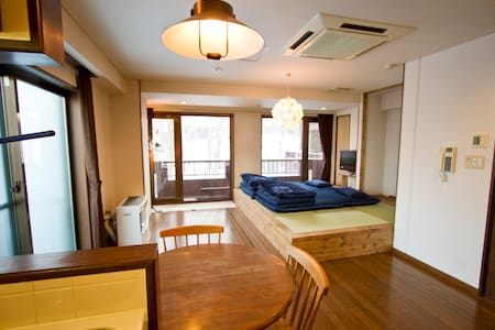 Studio Flat/Pocket WIFI/up to 4 guests/Subway 4min - Sapporo-shi