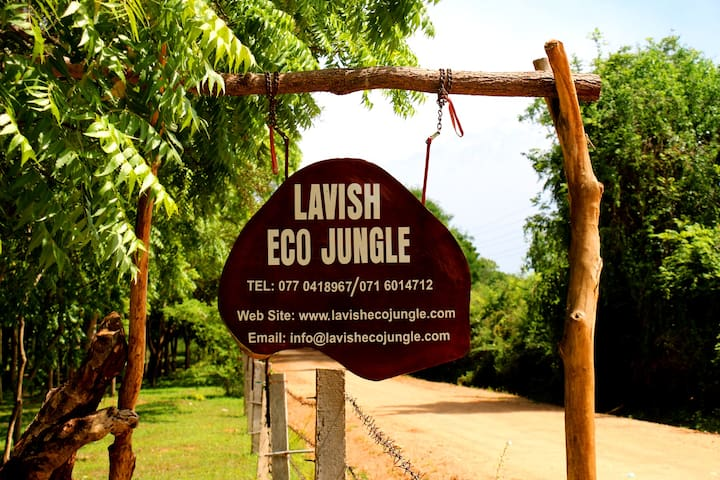 Lavish Eco Jungle - Eco Chalet Bungalow