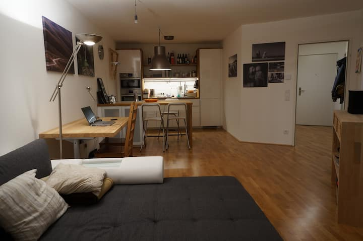 very nice and central 2-bed appartment
