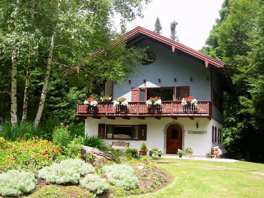 Villa Reitter in Summer